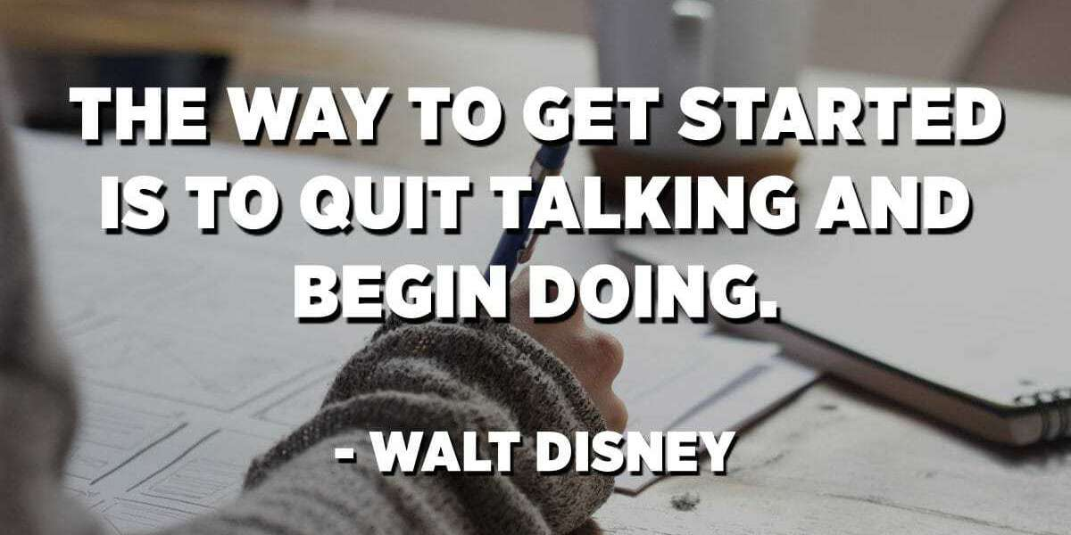 WHEN YOU'RE ABOUT TO QUIT, REMEMBER WHY YOU STARTED